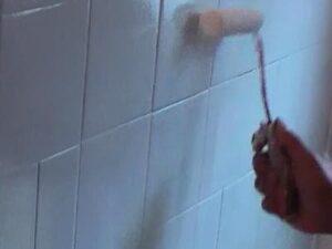 pintar azulejo baño
